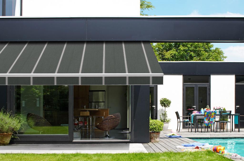 toile acrylique dickson storesrobert nimes avignon porte. Black Bedroom Furniture Sets. Home Design Ideas