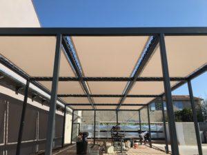 toiles perforées protection solaire